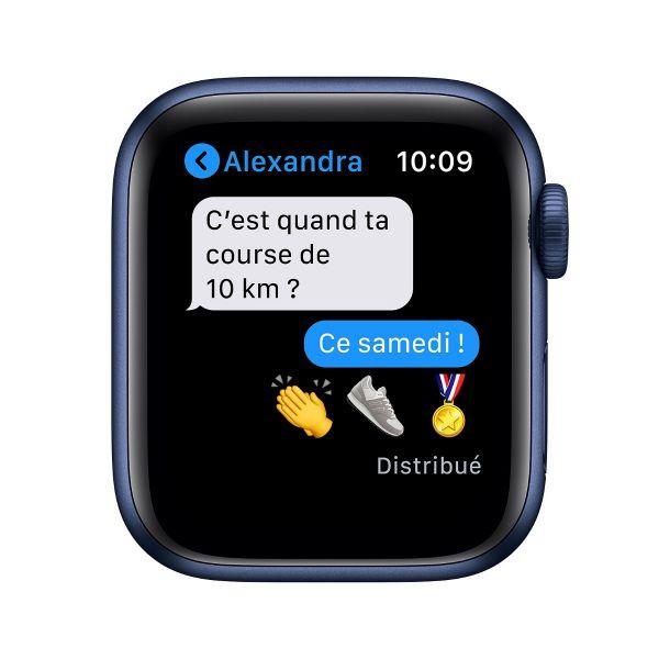 Apple Watch Series 6 40mm Bleu Aluminium - Reconditionnée Premium