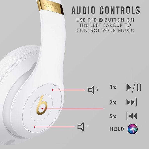 Beats Studio3 Wireless Blanc - Reconditionné Premium