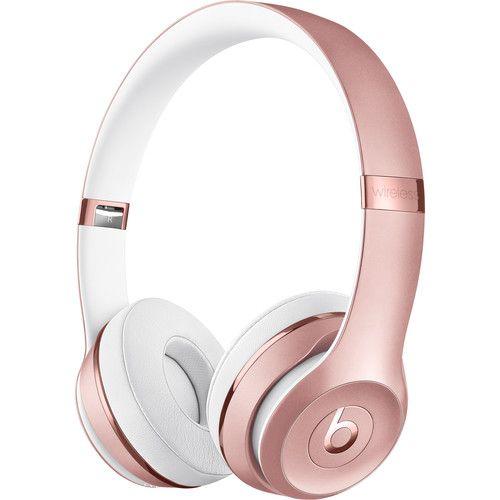 Beats Solo3 Wireless -  Or rose - Reconditionné Premium