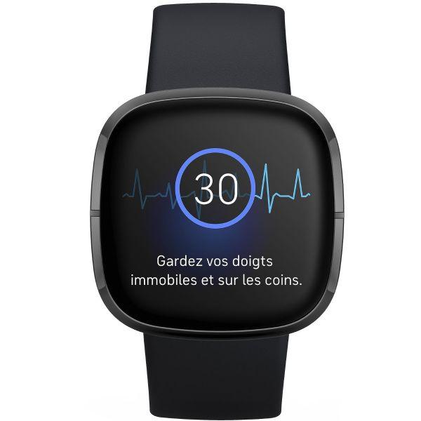 Fitbit Sense - Graphite Carbon - Reconditionné Officiel