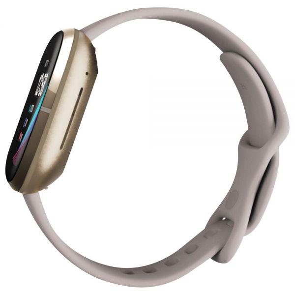 Fitbit Sense - Soft Gold - Reconditionné Officiel