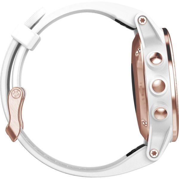 Fénix 5S Sapphire Rose Gold – Bracelet blanc