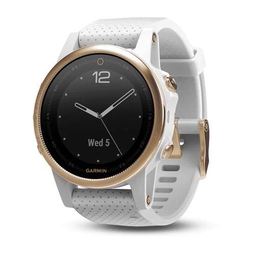 Fénix 5S Sapphire GoldTone – Bracelet blanc - Reconditionné Officiel