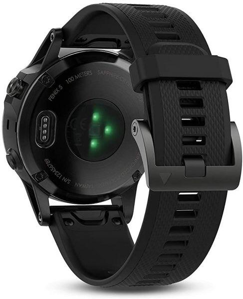 Fénix 5 Noir + bracelet noir - Reconditionné officiel