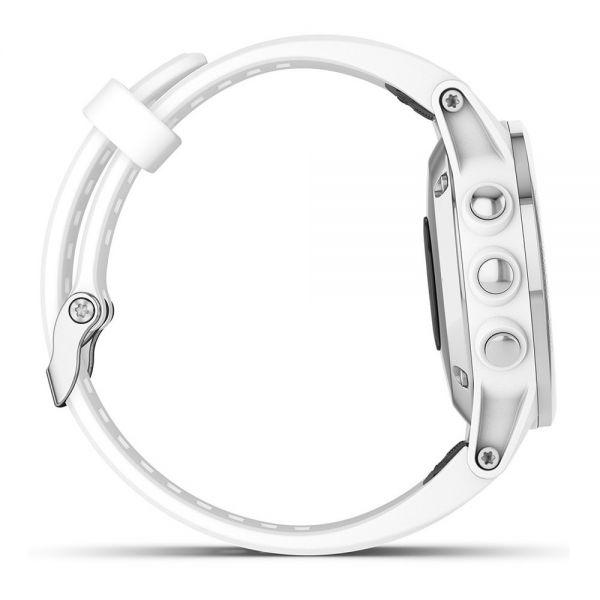 Fenix 5s Plus Sapphire Blanc – Bracelet Blanc - Reconditionné officiel