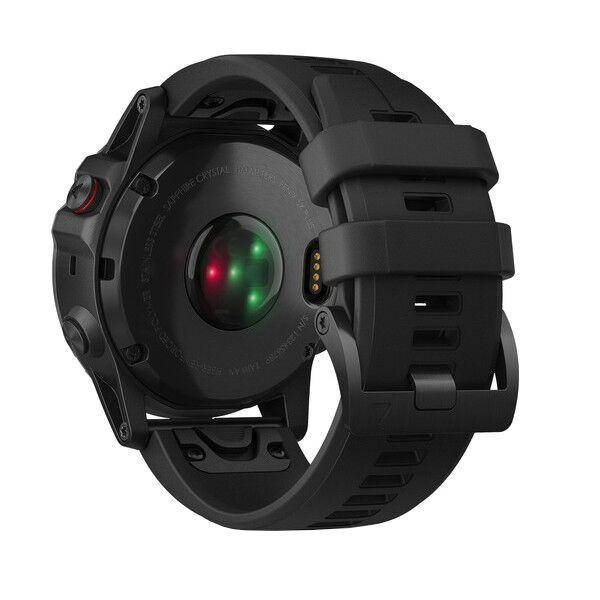 Fénix 5x Plus Sapphire Gray + bracelet noir - Reconditionné officiel