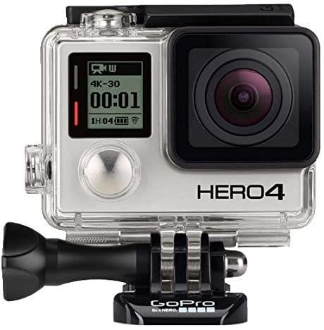GoPro Hero 4 Black - Pack Adventure - Reconditionné certifié