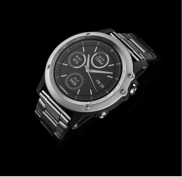 Fēnix 3 HR Silver Bracelet Métal - Reconditionné Officiel