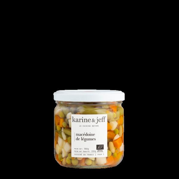 Macédoine de légumes - 3 pots de 360g