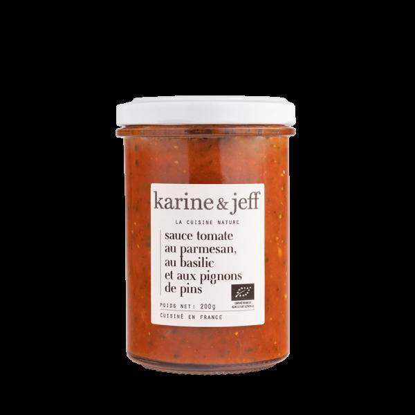 Sauce tomate au parmesan, au basilic et aux pignons de pin - 3 pots de 200g