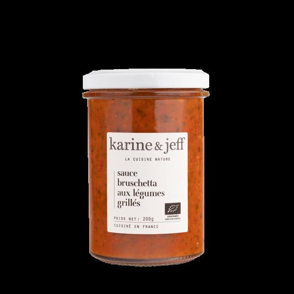 Sauce bruschetta aux légumes grillés - 3 pots de 200g