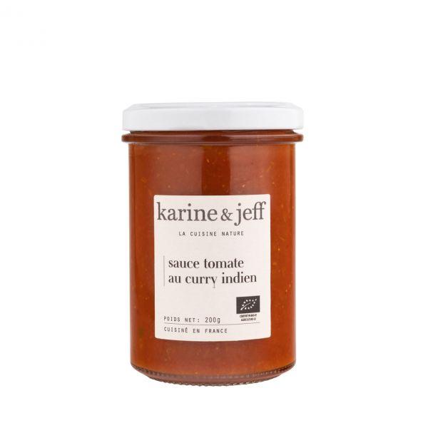 Sauce tomate au curry indien - 3 pots de 200g