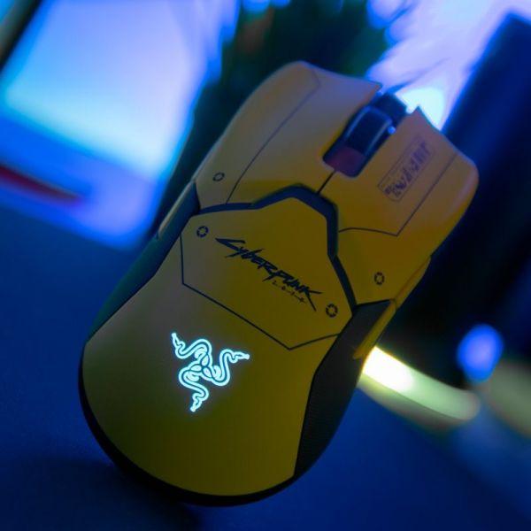 Razer Viper Ultimate Cyberpunk 2077 - Reconditionné officiel